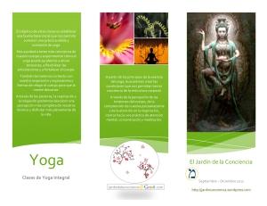 Clases de Yoga (otoño 2011)